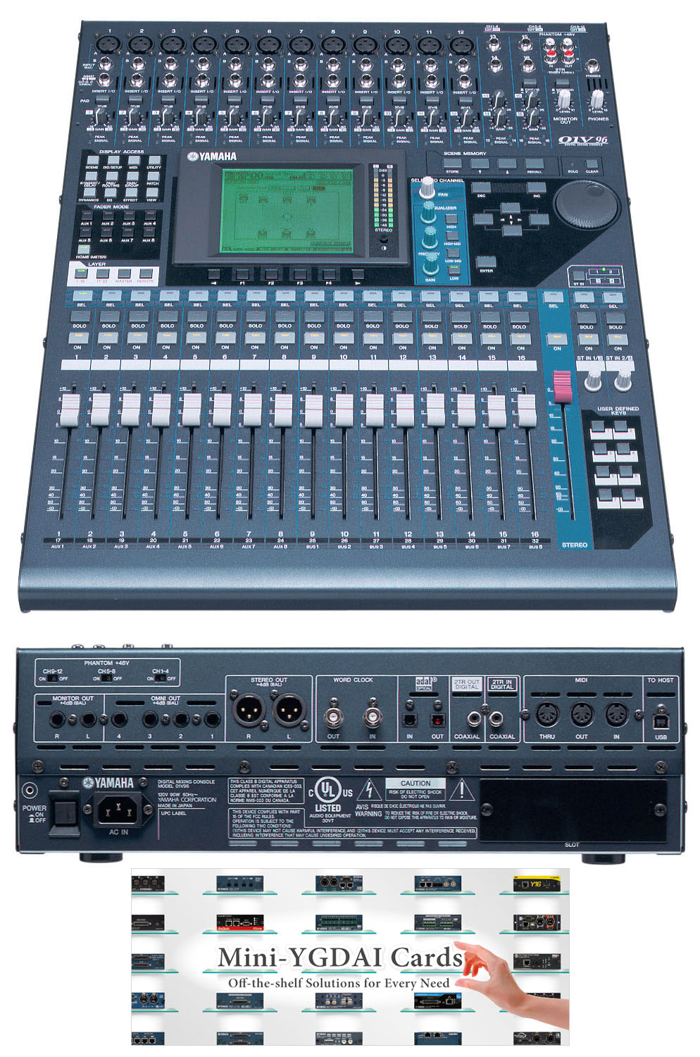 console configuration examples wave field synthesis diy rh wfs diy net Audio Mixer 01V96 Manual